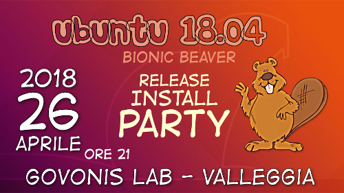 Bionic Beaver Release Party